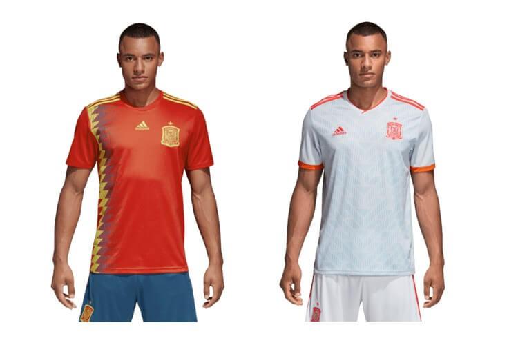 Replica voetbalshirt Spanje