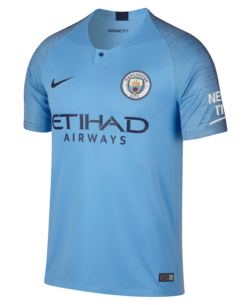 Nike Manchester City Thuisshirt 2018-2019 voorkant