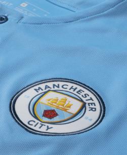 Nike Manchester City Thuisshirt 2018-2019 detail