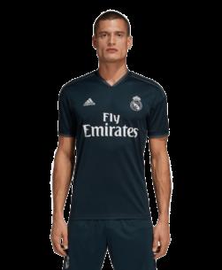 adidas Real Madrid Uitshirt 2018-2019 voorkant