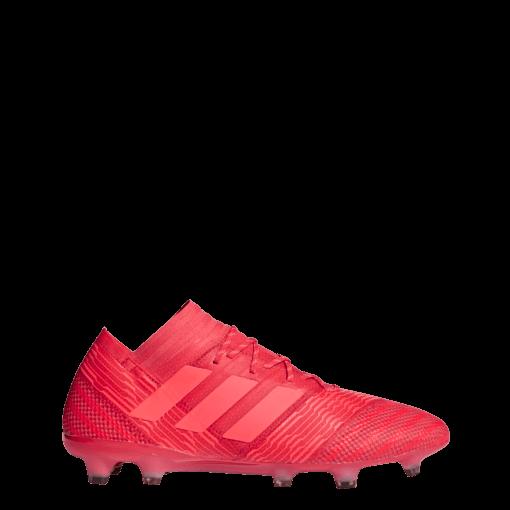 adidas Nemeziz 17.1 Firm Ground Voetbalschoen Rood zijkant