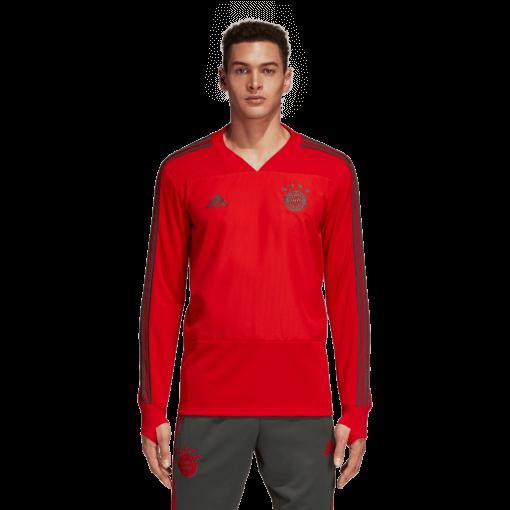 adidas FC Bayern Trainingstrui 2018-2019 voorkant