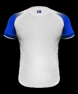 Errea IJsland Uitshirt WK2018 achterkant