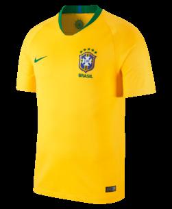 Nike Brazilië Thuisshirt WK2018