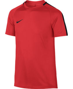 Nike Dry Academy Trainingsshirt Kids Light Crimson voorkant