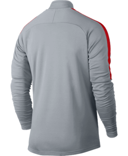 Nike Dry Academy Trainingstrui Wolf Grey achterkant