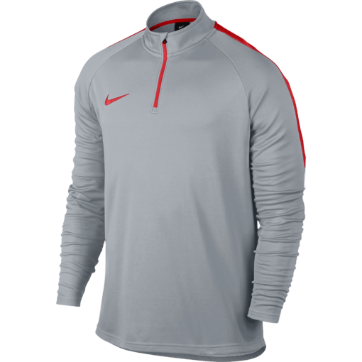Nike Dry Academy Trainingstrui Wolf Grey voorkant