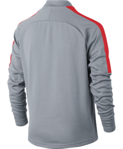 Nike Dry Academy Trainingstrui Kids Wolf Grey achterkant