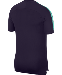 Nike FC Barcelona Breathe Squad Trainingsshirt 2018-2019 Purple Dynasty achterkant