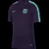 Nike FC Barcelona Breathe Squad Trainingsshirt 2018-2019 Purple Dynasty