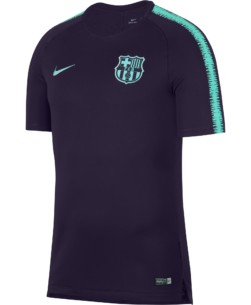 Nike FC Barcelona Breathe Squad Trainingsshirt 2018-2019 Purple Dynasty