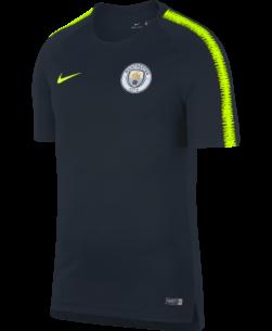 Nike Manchester City FC Breathe Squad Trainingsshirt 2018-2019 voorkant