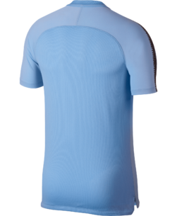 Nike Manchester City FC Breathe Squad Trainingsshirt 2018-2019 Field Blue achterkant