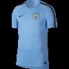 Nike Manchester City FC Breathe Squad Trainingsshirt 2018-2019 Field Blue voorkant