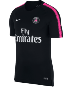 Nike Paris Saint-Germain Dry Squad Trainingsshirt 2018-2019 Black Hyper Pink