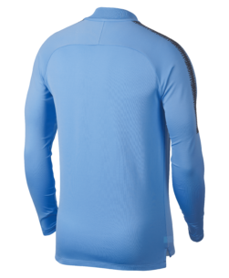 Nike Manchester City Dry Squad Drill Trainingstrui 2018-2019 Field Blue achterkant