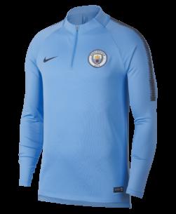 Nike Manchester City Dry Squad Drill Trainingstrui 2018-2019 Field Blue