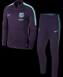 Nike FC Barcelona Dry Squad Drill Trainingspak 2018-2019 voorkant
