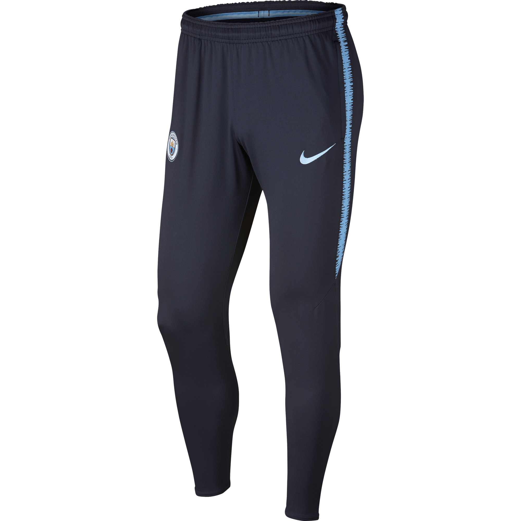 Nike Manchester City Dry Squad Trainingsbroek 2018-2019 Dark Obsidian
