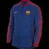 Nike FC Barcelona Anthem Trainingsjack 2018 - 2019 Royal Blue voorkant