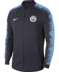 Nike Manchester City Anthem Trainingsjack 2018 - 2019 Obsidian