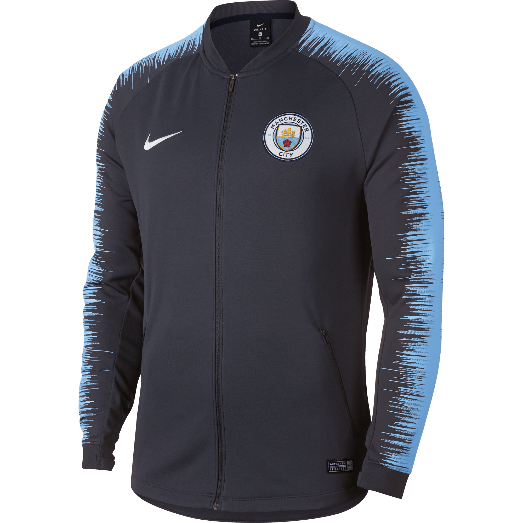 Nike Manchester City Anthem Trainingsjack 2018 - 2019 Obsidian