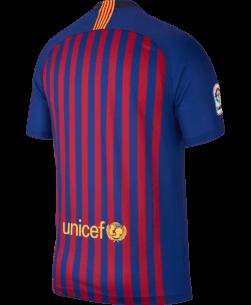 Nike FC Barcelona Thuisshirt 2018-2019 achterkant