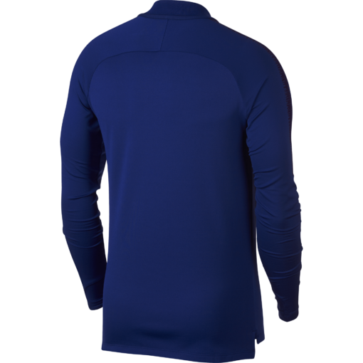 Nike Squad Drill Trainingstrui Royal Blue achterkant