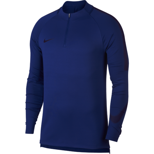 Nike Squad Drill Trainingstrui Royal Blue voorkant
