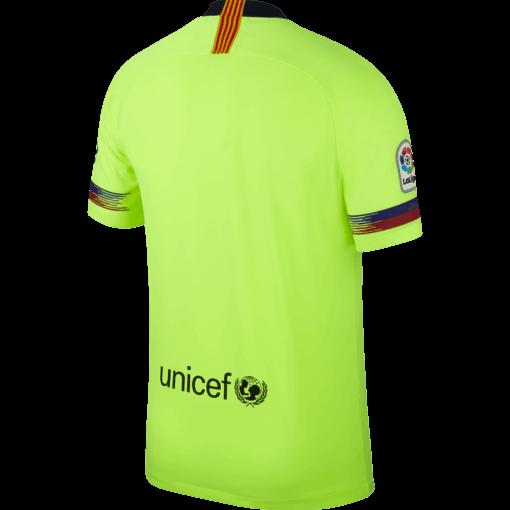 Nike FC Barcelona Uitshirt 2018-2019 achterkant