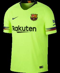Nike FC Barcelona Uitshirt 2018-2019 voorkant