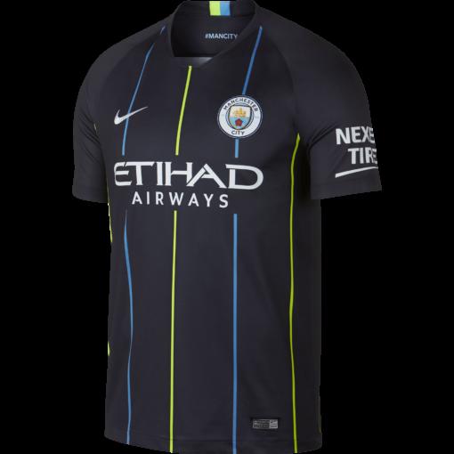 Nike Manchester City Uitshirt 2018-2019 voorkant