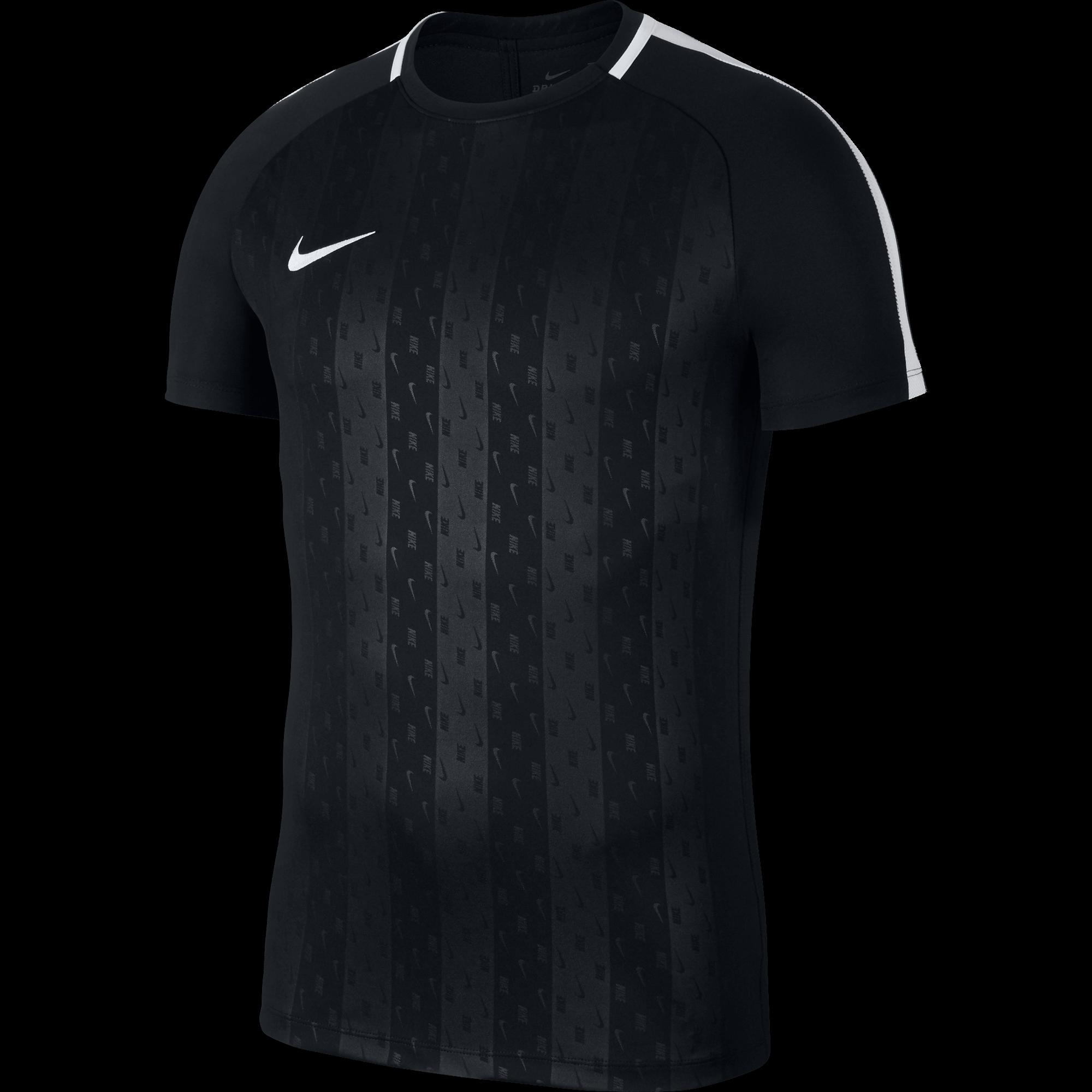 Nike Dry Academy Trainingsshirt Black voorkant