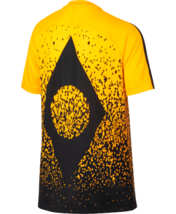 Nike Neymar Dry Academy Trainingsshirt Kids Yellow Black achterkant
