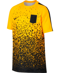 Nike Neymar Dry Academy Trainingsshirt Kids Yellow Black voorkant