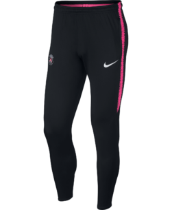 Nike Paris Saint-Germain Dry Squad Trainingsbroek 2018-2019 Black Hyper Pink