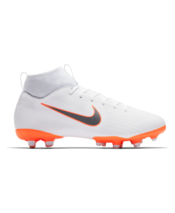 Nike Jr. Superfly VI Academy MG White Total Orange