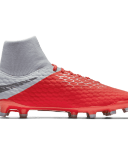 Nike Hypervenom Phantom III Academy Dynamic Fit FG Light Crimson Wolf Grey