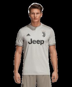 adidas Juventus Uitshirt 2018-2019 Sesame Clay voorkant