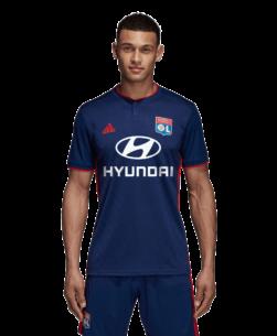 adidas Olympique Lyonnais Uitshirt 2018-2019 Dark Blue voorkant
