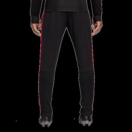 adidas Manchester United Trainingsbroek 2018-2019 Black Blaze Red Core Pink achterkant