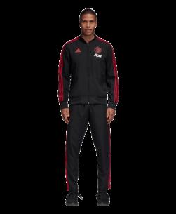 adidas Manchester United Presentatie Trainingsjack 2018-2019 Black Blaze Red pak