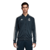 adidas Real Madrid Trainingsjack 2018-2019 Blue Core White voorkant