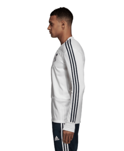 adidas Real Madrid Trainingstrui 2018-2019 Cream White Tech Onix zijkant
