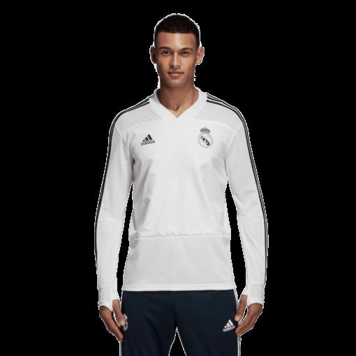 adidas Real Madrid Trainingstrui 2018-2019 Cream White Tech Onix