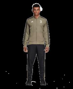 adidas Juventus Trainingsjack 2018-2019 Clay Black hele pak