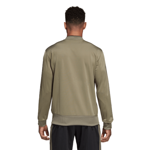 adidas Juventus Trainingsjack 2018-2019 Clay Black achterkant
