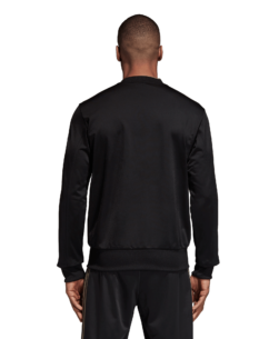 adidas Juventus Trainingsjack 2018-2019 Black achterkant