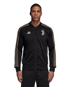 adidas Juventus Trainingsjack 2018-2019 Black