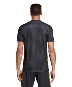 adidas Juventus Derde Wedstrijdshirt 2018-2019 Grey Shock Yellow achterkant